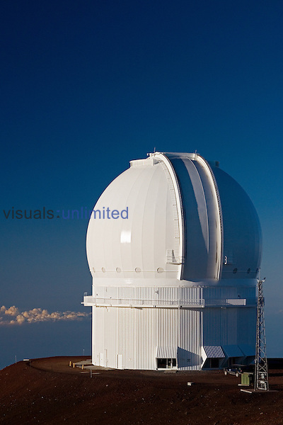 Canada-France-Hawaii Telescope or CFHT, Mauna Kea Observatories, Big Island, Hawaii.