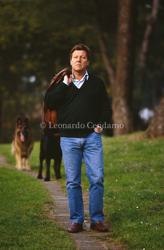 1993: GIORGIO MONTEFOSCHI © Leonardo Cendamo