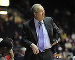 "Ole Miss vs. Coastal Carolina head coach Cliff Ellis at the C.M. ""Tad"" Smith Coliseum in Oxford, Miss. on Tuesday, November 13, 2012. (AP Photo/Oxford Eagle, Bruce Newman)"