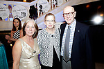 Waterbury, CT- 28 April 2017-042817CM15-  From left Nancy Fischer of Bedford NH and Margaret Ferguson and Dan Sherr of Washington are photographed during the 10th annual Jane Doe No More gala and awards ceremony at the Palace Theater in Waterbury.   Christopher Massa Republican-American