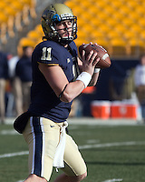 Pitt quarterback Mark Myers. The Pittsburgh Panthers beat the Syracuse Orange 33-20 at Heinz Field in Pittsburgh, Pennsylvania on December 3, 2011