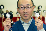 Iwatsuki ningyo Dolls are created by Hiroshi Omamiuda at his company Taisei Ningyo in Iwatsuki, Saitama Prefecture, Japan on Feb. 01, 2017. The dolls have been made in Japan for over 300 years. ROB GILHOOLY PHOTO