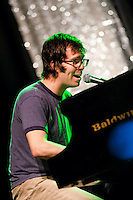 Ben Folds performs at the Electric Factory in Philadelphia, Pennsylvania.