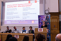 "01.03.2017 - LSE Presents: ""Austerity, Debt - What Alternatives?"" - #LSEworks"