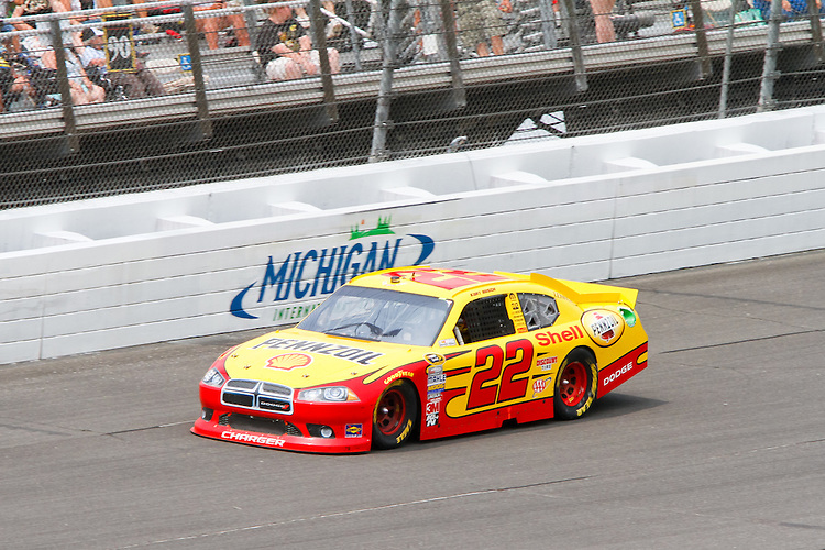 19 June, 2011: Kurt Busch during the 43rd Annual Heluva Good! Sour Cream Dips 400 at Michigan International Speedway in Brooklyn, Michigan.