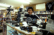 May 6th to 13th, 1985 in Navajo Reserve, AZ. Young Navajo businessman Jerry Nez. He created a chain of three video tape renting stores in Window Rock, AZ.
