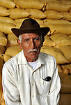 Portrait of worker at a chocolate factory in Ecuador