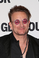 LOS ANGELES, CA - NOVEMBER 14: Bono at  Glamour's Women Of The Year 2016 at NeueHouse Hollywood on November 14, 2016 in Los Angeles, California. Credit: Faye Sadou/MediaPunch