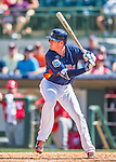 15 March 2016: Houston Astros infielder Colin Moran, ranked the 9th Top Prospect in the Astros organization for 2016 by Baseball America, in action during a Spring Training pre-season game against the Washington Nationals at Osceola County Stadium in Kissimmee, Florida. The Astros fell to the Nationals 6-4 in Grapefruit League play. Mandatory Credit: Ed Wolfstein Photo *** RAW (NEF) Image File Available ***