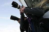 Media. Mavericks Surf Contest in Half Moon Bay, California on February 13th, 2010.