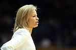 22 February 2013: FSU head coach Sue Semrau. The Duke University Blue Devils played the Florida State University Seminoles at Cameron Indoor Stadium in Durham, North Carolina in a 2012-2013 NCAA Division I and Atlantic Coast Conference women's college basketball game. Duke won the game 61-50.