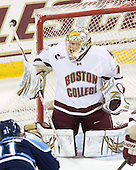 John Muse (BC - 1) - The Boston College Eagles defeated the visiting University of Maine Black Bears 4-0 on Friday, November 19, 2010, at Conte Forum in Chestnut Hill, Massachusetts.