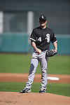 SCOTTSDALE, AZ - MARCH 09:  Jake Peavy #44 of the Chicago White Sox pitches against the San Francisco Giants on March 09, 2011 at Scottsdale Stadium in Scottsdale, Arizona. The Giants defeated the White Sox 4-2.  (Photo by Ron Vesely)