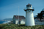CA: Montara, California, lighthouse 2005 .Image: camontara104..Photo Copyright: Lee Foster, lee@fostertravel.com, www.fostertravel.com, (510) 549-2202.