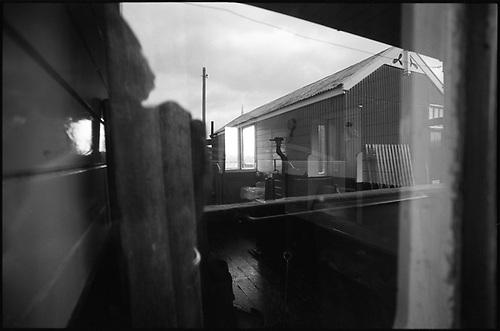 Window Reflection, Mid-Suffolk Light Railway by Paul Cooklin