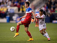 Chester, PA - Sunday, October 26, 2014: The USWNT defeated Costa Rica 6-0 during the finals of the  CONCACAF Women's Championship at PPL Park.