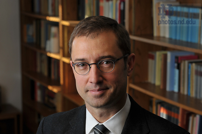 Professor Robert Norton, chair of the German/Russian Language & Literature...Photo by Matt Cashore/University of Notre Dame