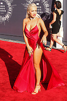 LOS ANGELES, CA, USA - AUGUST 24: Rita Ora arrives at the 2014 MTV Video Music Awards held at The Forum on August 24, 2014 in the Los Angeles, California, United States. (Photo by Xavier Collin/Celebrity Monitor)