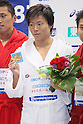 Kenta Ito, September 4, 2011 - Swimming : Kenta Ito celebrates wining victory during the Intercollegiate Swimming Championships, men's 100m Free style medal ceremony at Yokohama international pool, Kanagawa. Japan. (Photo by Yusuke Nakanishi/AFLO SPORT) [1090]