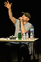 London, UK. 11.02.2016. Simon McBurney performs in THE ENCOUNTER, a Complicite production in association with Barbican, Edinburgh International Festival, Onassis Cultural Centre - Athens, Schaubuhne Berlin, Theatre Vidy Lausanne and Warwick Arts Centre. Photograph © Jane Hobson.