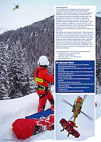 Snowboarder, Netherlands. Avalanche Rescue with the Austrian Mountain Rescue Service