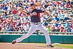 21 March 2015: Atlanta Braves pitcher Michael Kohn on the mound during a Split Squad Spring Training game against the Washington Nationals at Champion Stadium at the ESPN Wide World of Sports Complex in Kissimmee, Florida. The Braves defeated the Nationals 5-2 in Grapefruit League play. Mandatory Credit: Ed Wolfstein Photo *** RAW (NEF) Image File Available ***