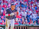 23 May 2015: Washington Nationals infielder Yunel Escobar in action against the Philadelphia Phillies at Nationals Park in Washington, DC. The Phillies defeated the Nationals 8-1 in the second game of their 3-game weekend series. Mandatory Credit: Ed Wolfstein Photo *** RAW (NEF) Image File Available ***