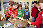 J. Nichols Teaching Students From Pacific Elementary School About Sea Turtles