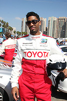 Fonzworth Bentley  at  the 33rd Annual Toyota Pro/Celeb Race Press Day at the Grand Prix track in Long Beach, CA on April 7, 2009.©2009 Kathy Hutchins / Hutchins Photo....                .