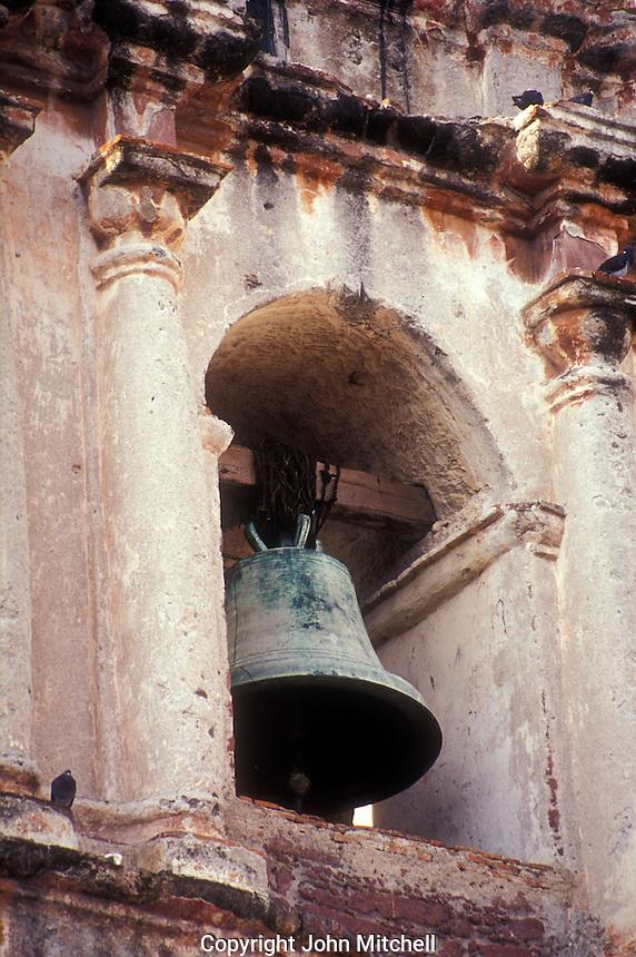Church bell  in San Miguel de Allende, Mexico