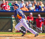 7 March 2013: Houston Astros outfielder Robbie Grossman in action during a Spring Training game against the Washington Nationals at Osceola County Stadium in Kissimmee, Florida. The Astros defeated the Nationals 4-2 in Grapefruit League play. Mandatory Credit: Ed Wolfstein Photo *** RAW (NEF) Image File Available ***