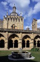 Europe/Portugal/Coimbra : La cathédrale ancienne du XII°