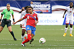 24 October 2014: Raquel Rodriguez Cedeno (CRC). The Costa Rica Women's National Team played the Trinidad & Tobago Women's National Team at PPL Park in Chester, Pennsylvania in a 2014 CONCACAF Women's Championship semifinal game, which serves as a qualifying tournament for the 2015 FIFA Women's World Cup in Canada. Costa Rica advanced to the championship game, and qualified for next year's Women's World Cup, by winning the penalty shootout 3-0 after the game ended in a 1-1 tie after double overtime.