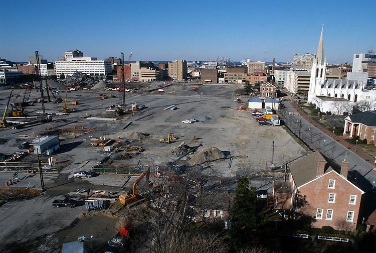 1996 DECEMBER 12..Redevelopment..Macarthur Center.Downtown North (R-8)..LOOKING WEST...NEG#.NRHA#..