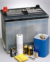 BATTERIES: FOUR TYPES<br />
