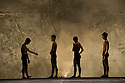 "London, UK. 14/10/2011. First time visitors to the UK, Beijing Dance Theater presents ""Haze"" at Sadlers Wells, as part of their ""Out of Asia"" season."