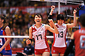 Kanako Hirai (JPN),.MAY 27, 2012 - Volleyball : FIVB the Women's World Olympic Qualification Tournament for the London Olympics 2012, between Japan 2-3 Serbia at Tokyo Metropolitan Gymnasium, Tokyo, Japan. (Photo by Jun Tsukida/AFLO SPORT) [0003].