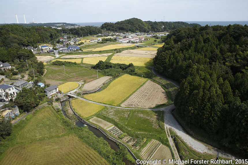 In March 2011, an earthquake and tsunami hit northern Japan and destroyed the Fukushima Daiichi nuclear power plant. Some 488 thousand people evacuated from the three-part disaster; in 2015, nearly 25% remain displaced.<br /> <br /> A massive effort is now underway to decontaminate towns in the Fukushima Exclusion Zone. Thousands of laborers are cleaning or demolishing every building, and removing and incinerating all topsoil in inhabited areas. In the adjacent forests and mountains, radiation levels remain higher and will not be cleaned.<br /> <br /> Naraha, 12 miles south of the nuclear plant, is the first town to reopen after the disaster. Residents were allowed to return home full-time on Sept. 5, 2015. To date, an estimated 100 residents have returned, out of a pre-disaster population of 7,400. <br /> <br /> I returned to Fukushima one week after Naraha reopened and spent a month there, interviewing and photographing returnees and decontamination workers. I asked portrait subjects to write down their hopes and fears for their hometowns, and then discuss these thoughts about their future. People&rsquo;s written declarations often differed substantially from their spoken comments.<br /> &copy; Michael Forster Rothbart Photography<br /> www.mfrphoto.com &bull; 607-267-4893<br /> 34 Spruce St, Oneonta, NY 13820<br /> 86 Three Mile Pond Rd, Vassalboro, ME 04989<br /> info@mfrphoto.com<br /> Photo by: Michael Forster Rothbart<br /> Date:  10/4/2015<br /> File#:  Canon &mdash; Canon EOS 5D Mark III digital camera frame B19950