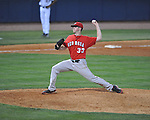 Mississippi vs. Georgia's Alex Wood (33) in college baseball action at Oxford-University Stadium in Oxford, Miss. on Friday, April 8, 2011. Georgia won 9-8.