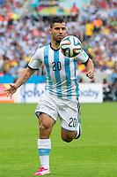 Sergio Aguero of Argentina
