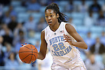 01 February 2015: North Carolina's N'Dea Bryant. The University of North Carolina Tar Heels hosted the Boston College Eagles at Carmichael Arena in Chapel Hill, North Carolina in a 2014-15 NCAA Division I Women's Basketball game. UNC won the game 72-60.