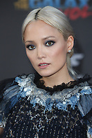 """HOLLYWOOD, CA - April 19: Pom Klementieff, At Premiere Of Disney And Marvel's """"Guardians Of The Galaxy Vol. 2"""" At The Dolby Theatre  In California on April 19, 2017. Credit: FS/MediaPunch"""