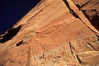 Pictographs in Horseshoe Canyon, Canyonlands National Park, Utah