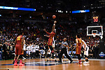 MILWAUKEE, WI - MARCH 18: Iowa State University tips off against Purdue University during the 2017 NCAA Men's Basketball Tournament held at BMO Harris Bradley Center on March 18, 2017 in Milwaukee, Wisconsin. (Photo by Jamie Schwaberow/NCAA Photos via Getty Images)