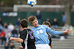 06 December 2008: North Carolina's Kirk Urso (18) and Northwestern's Geoff Fallon (13). The University of North Carolina Tar Heels defeated the Northwestern University Wildcats 1-0 at Fetzer Field in Chapel Hill, North Carolina in a NCAA Division I Men's Soccer tournament quarterfinal game.
