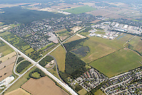 Deutschland, Schleswig- Holstein, Glinde, Biedenkamp, Gewerbegebiet,  BAB A 26, Abfahrt Reinbek- Glinde, K80