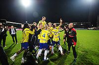 VOETBAL: LEEUWARDEN: Cambuur Stadion, 27-04-2012, SC Cambuur - Telstar, Jupiler League, Eindstand 3-1, na afloop van de wedstrijd afscheid Sandor van der Heide (#10 Cambuur), ©foto Martin de Jong