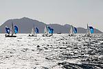 420 Women Fleet Race<br /> Day2, 2015 Youth Sailing World Championships,<br /> Langkawi, Malaysia