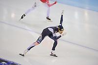 SPEEDSKATING: SOCHI: Adler Arena, 24-03-2013, Essent ISU World Championship Single Distances, Day 4, 500m Ladies, Hyun-Yung Kim (KOR), © Martin de Jong