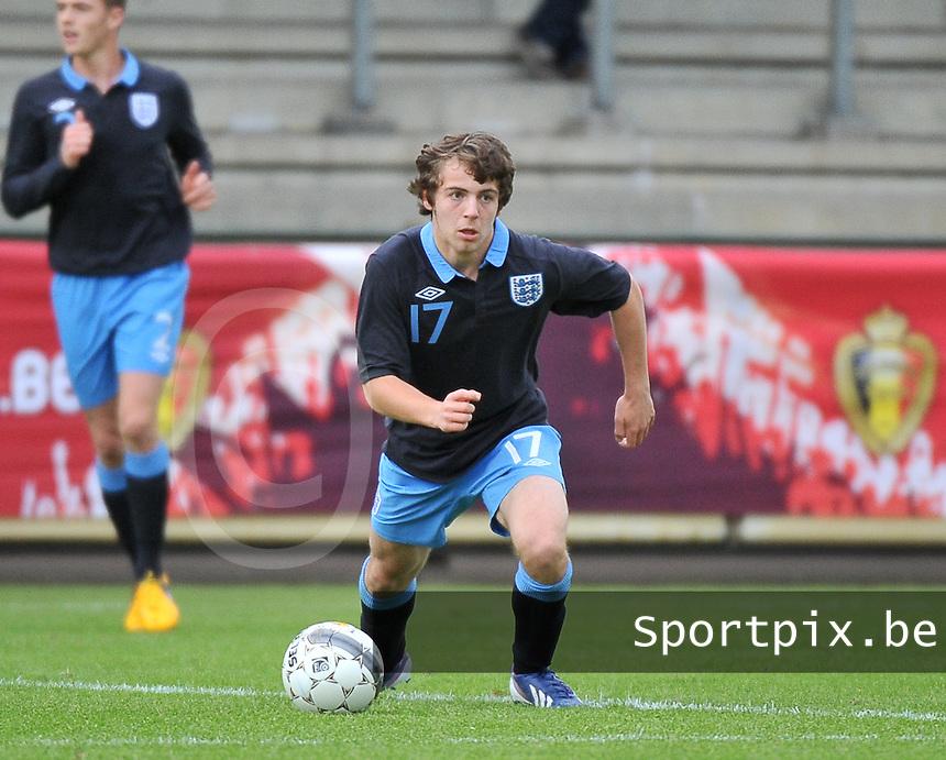 Belgium U19 - England U19 : Benjamin Pearson.foto DAVID CATRY / Nikonpro.be
